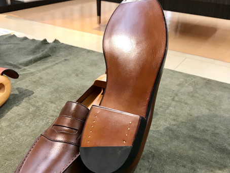 J.M WESTON  All Sole Repair