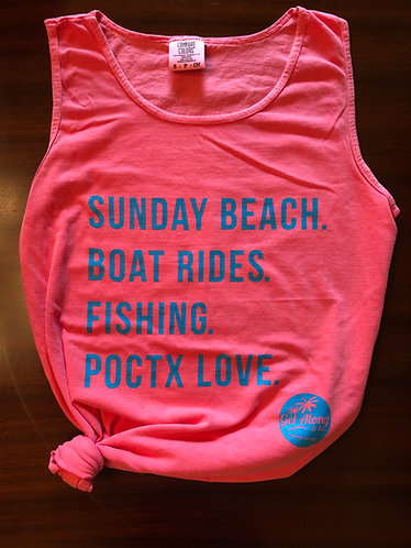 POCTX Favorite Things Tank (Pink)