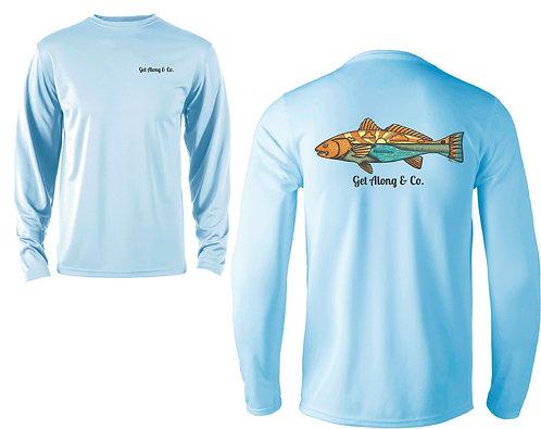 Men's Long Sleeve Redfish Shirt