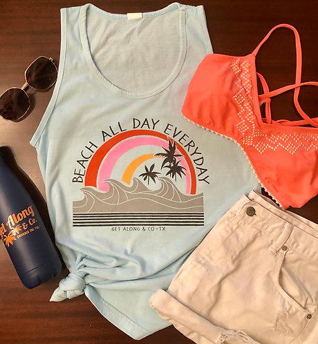 Retro Beach Tank (collegiate style)