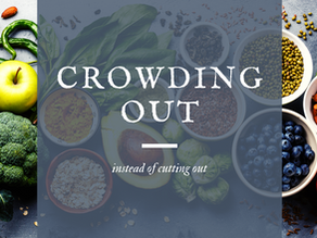 Healthy Hack #3 - Crowding Out