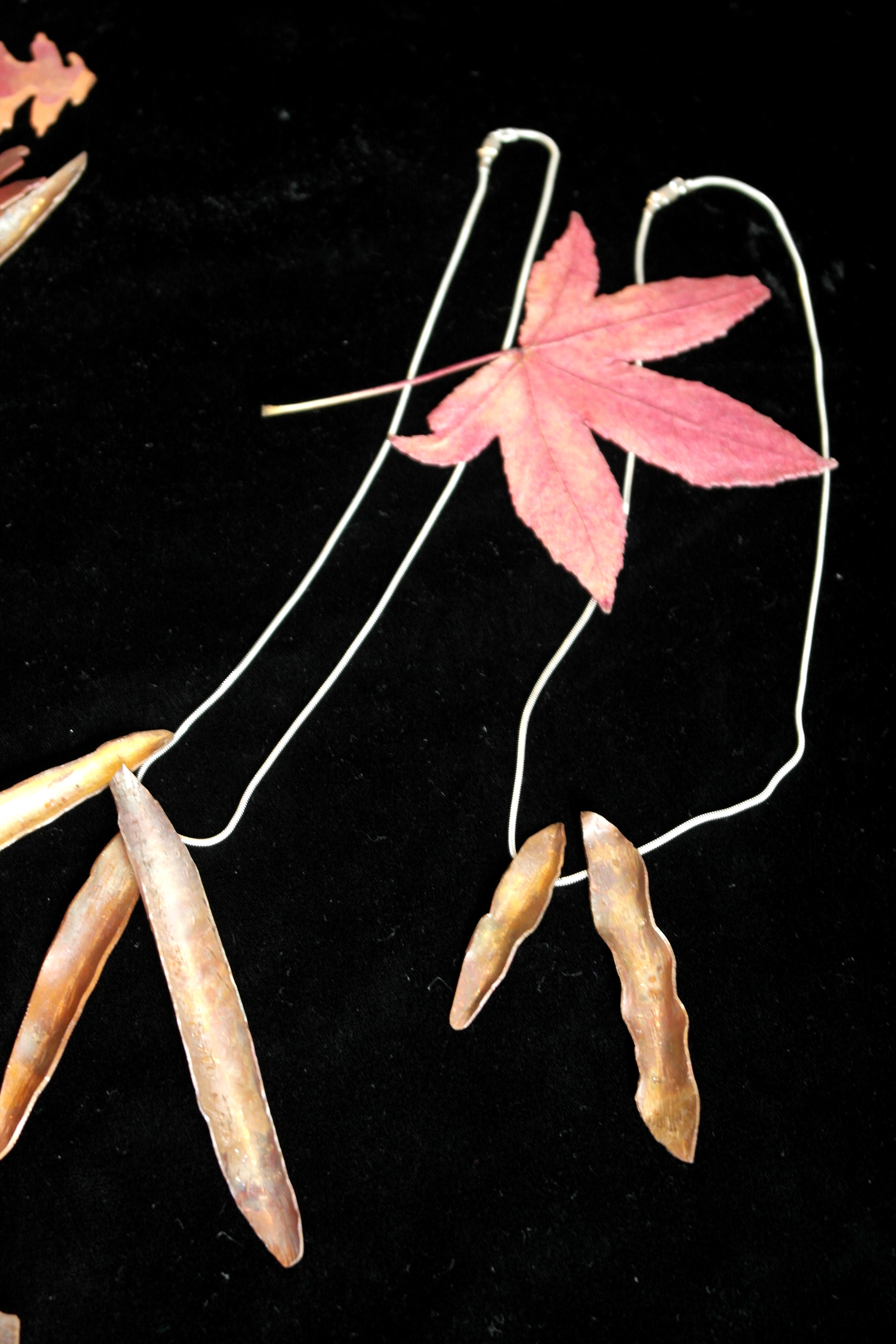 copper leaves