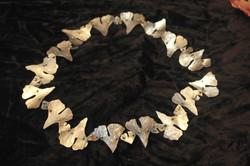 Silvershine gingkgo necklace