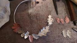 Autumn Leaves Necklace