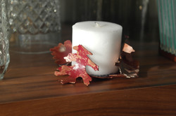 copperflame candle holder