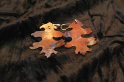 Copperflame Oak earrings