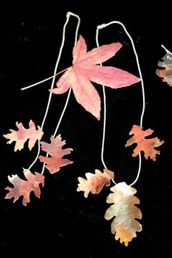 Autumnal pendants
