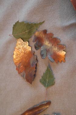 Copper flame colorization