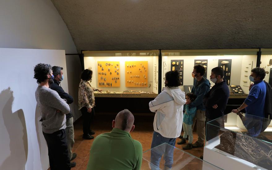 סיור במוזיאון האדם הקדמון
