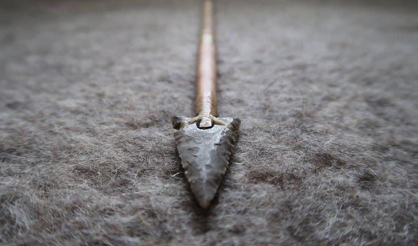 ראש חץ מאבן צור