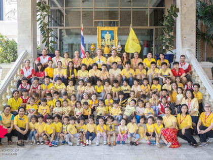 Canadian International School of Thailand conveys the auspicious occasion of the Coronation of His M