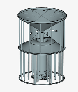 The Hybrid Tower (CAD)