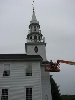 Warren Church Steeple Roof