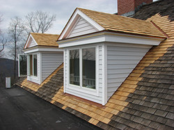 Dormer Addition in Kent, CT