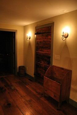Custom Built Door, Antique Flooring