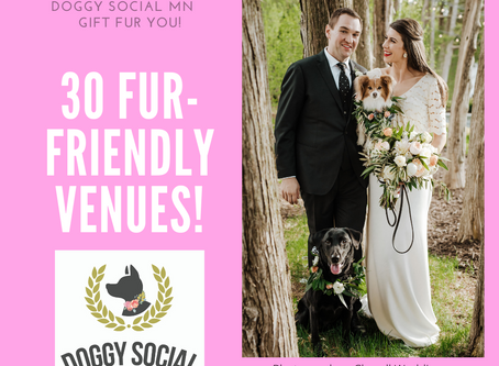 30 Fur-Friendly Wedding Venues in MN and WI!