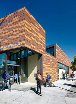 terracotta rainscreen Bayview Library, C
