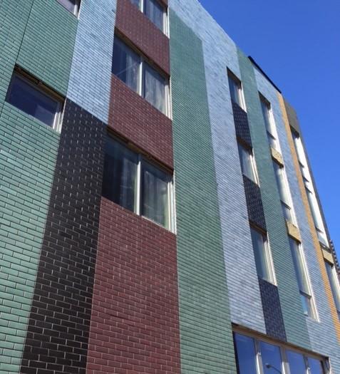 corium brick cladding 926 N Street, DC-2