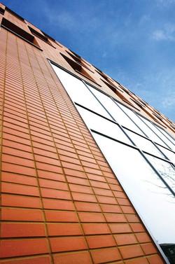 corium brick cladding Park West, UK-1