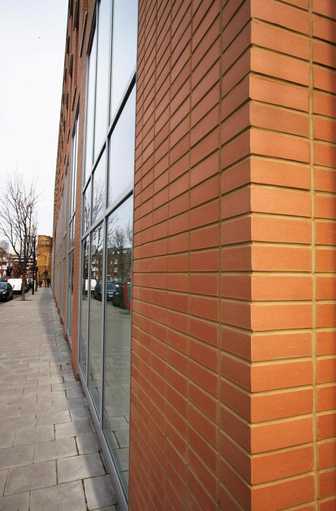 corium brick cladding Park West, UK-3