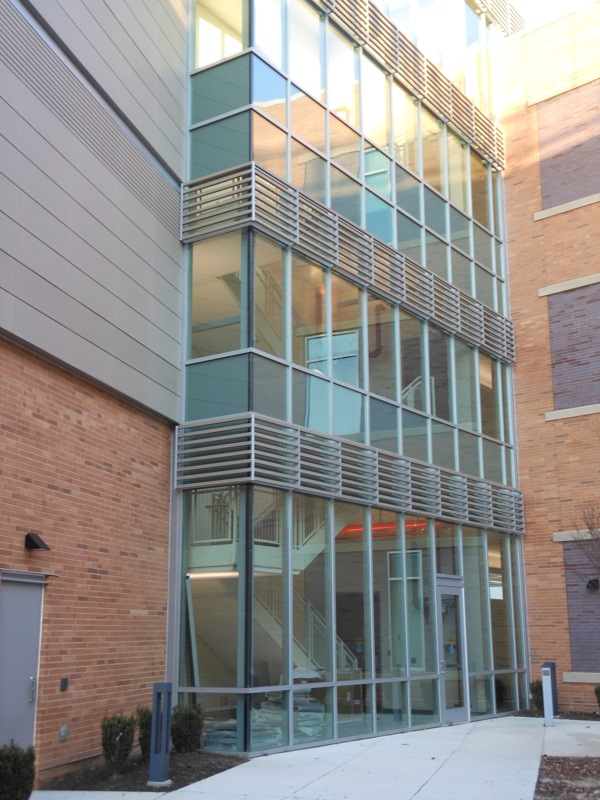 terracotta rainscreen Howard CC College,