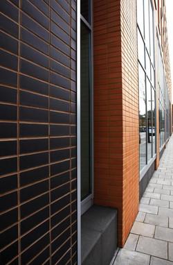 corium brick cladding Park West, UK-2