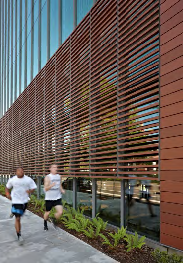 Argeton Terracotta Rainscreen on the Fort Vancouver Community Library