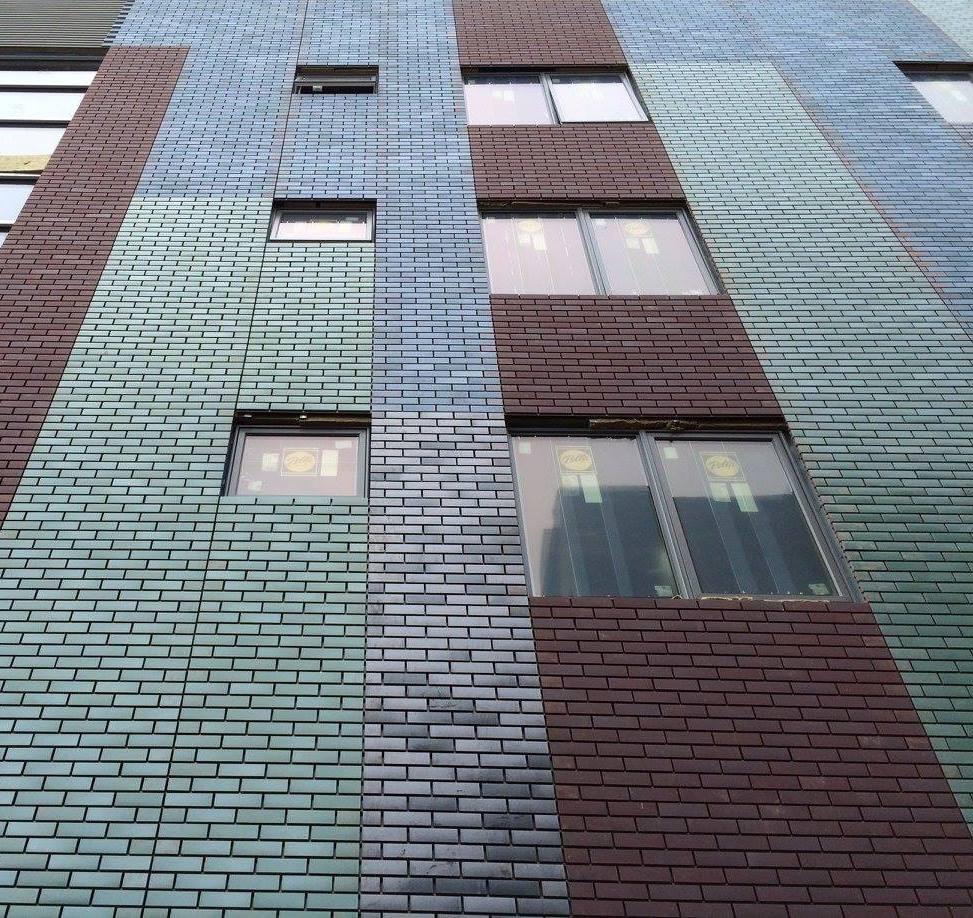 corium brick cladding 926 N Street, DC-3