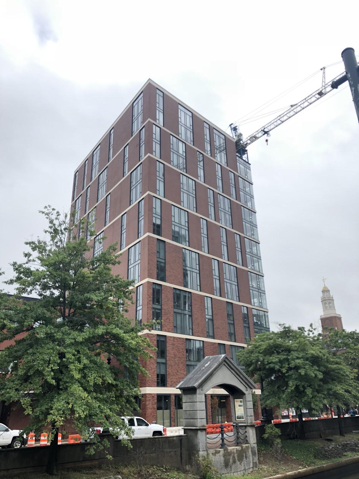 corium brick cladding Canal Street, RI-1