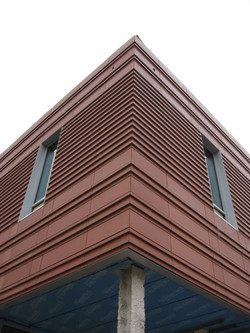 terracotta rainscreen Chesapeake College