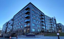 corium brick cladding Clippership Wharf,