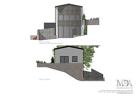 Coloured Elevations Front & Rear Wood Op