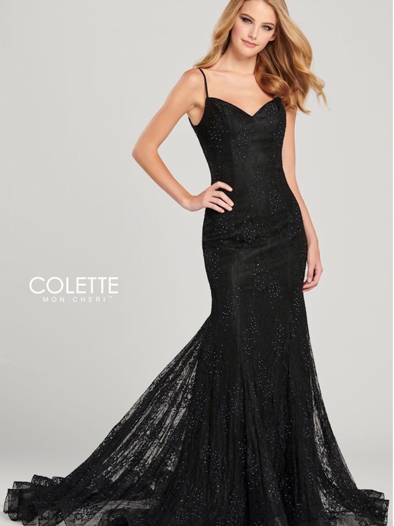 sexy black lace fit and flare