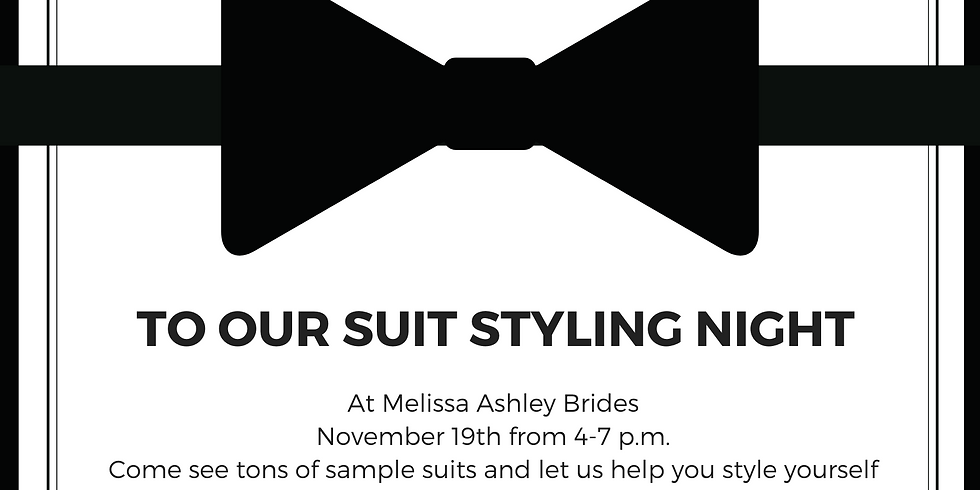 Suit Styling Night