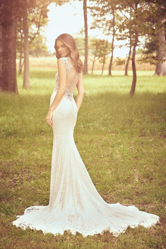 RI Bridal Shop, Bridal Shop RI, lace wedding dress, low back wedding dress