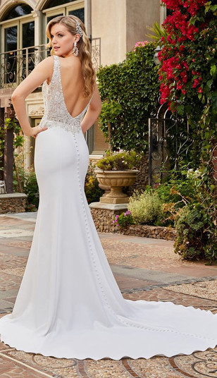 RI Wedding Dress Shop, Bridal Shops in RI, RI Bridal Shop, low back wedding dress, fitted wedding dress, wedding dress