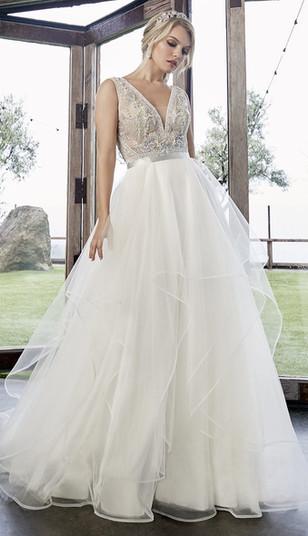 ct bridal shop, a-line wedding dress, v-neck wedding dresses