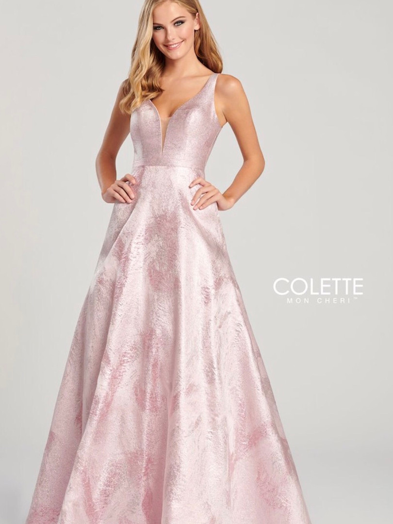 modest ball gown prom dress