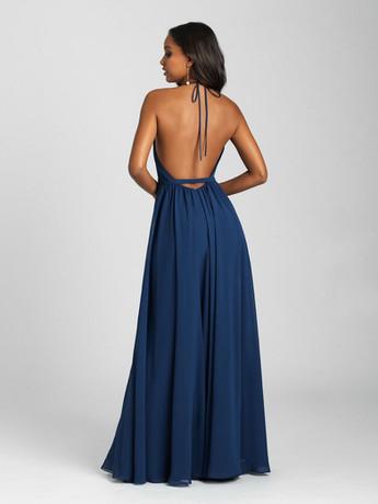 low back sexy bridesmaid dress