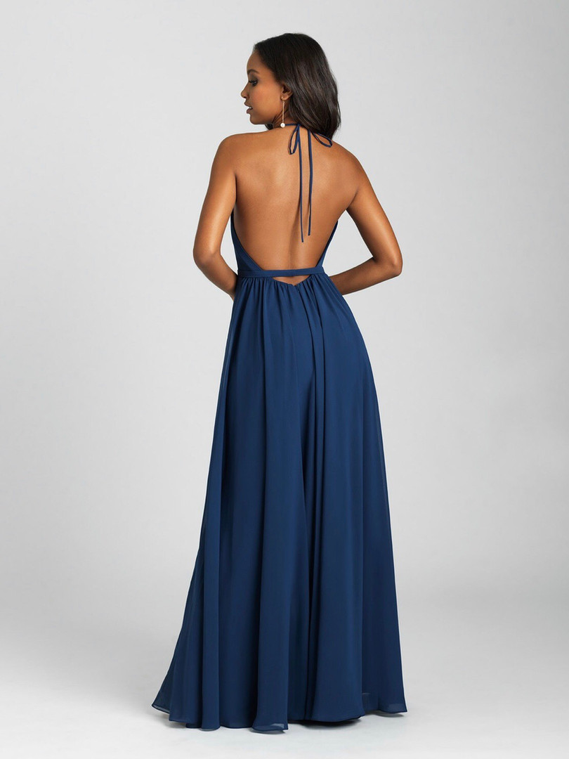 low back sexy bridesmaid dress