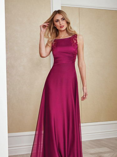 Lace and Chiffon Mother of the Bride Dress