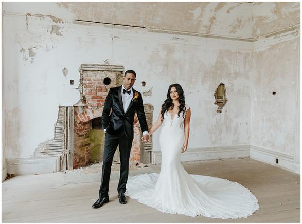 fitted lace wedding dress, narragansett wedding dress shop, newport wedding dress shop, boho wedding dress