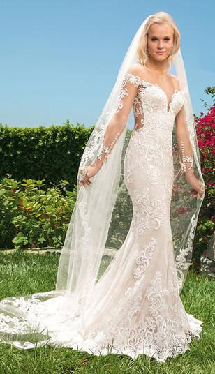 CT Bridal Shop, Bridal Shop CT, sparkly wedding dress, long sleeve wedding dress