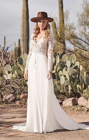 RI Bridal Shop, Bridal Shop RI, boho wedding dress, long sleeve boho wedding dress