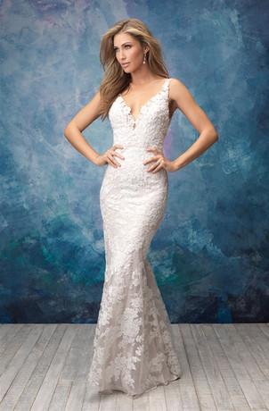 Lace Slip Wedding Dress