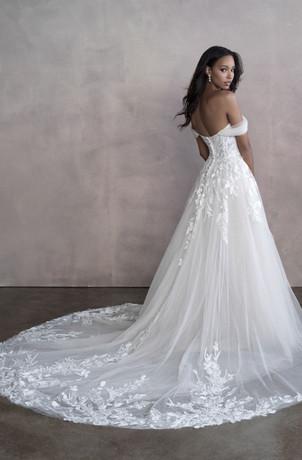 waterford bridal shop, warwick bridal shop, a-line wedding dress, romantic wedding gown