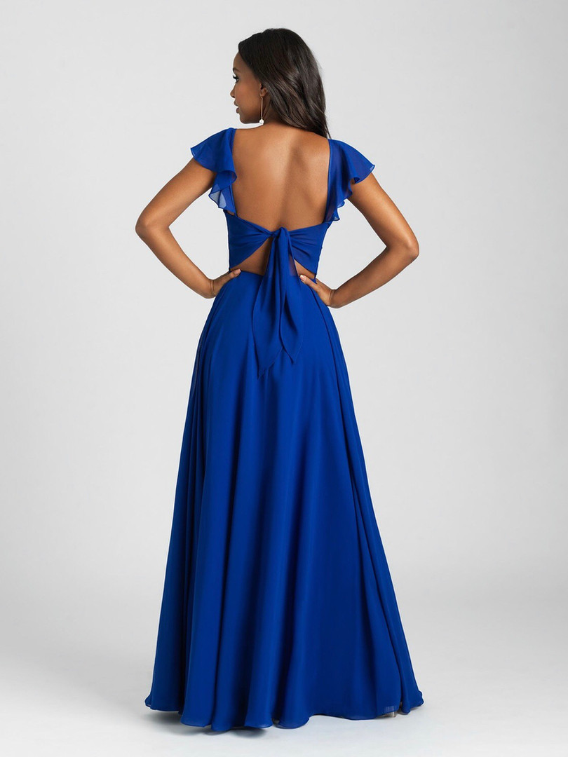 cute back bridesmaids dress