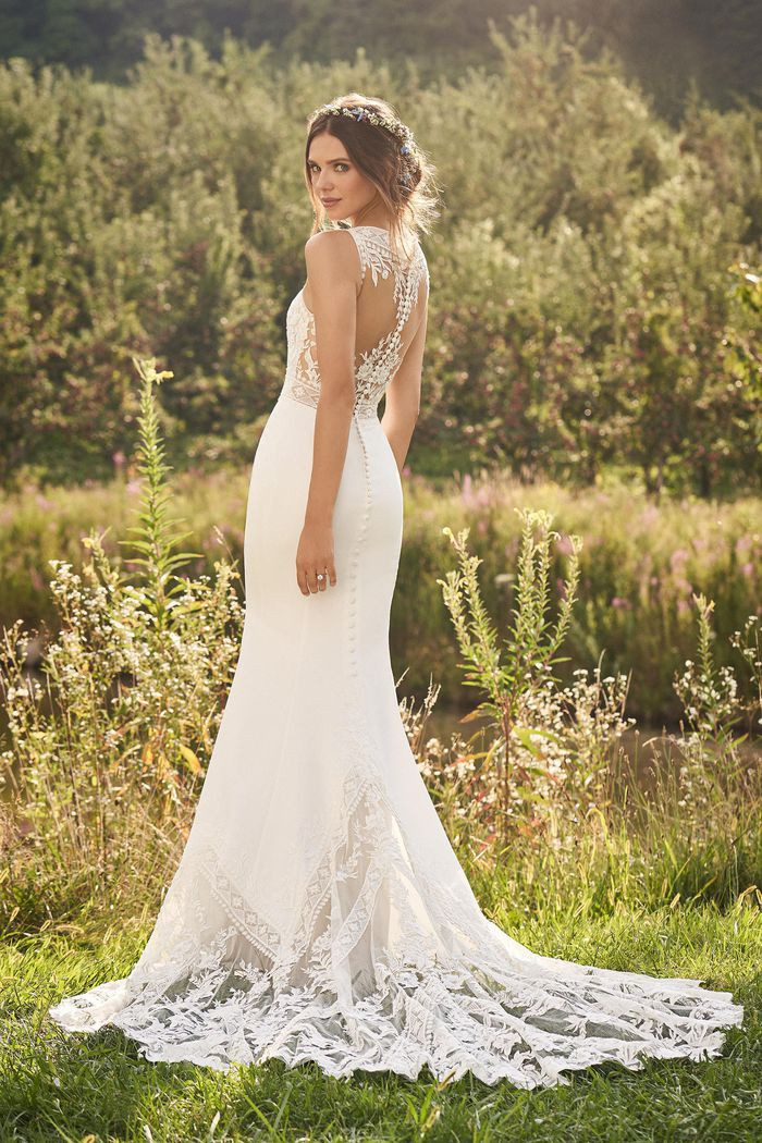 RI Bridal Shop, Bridal Shop RI, Illusion back wedding dress, cool back wedding dress