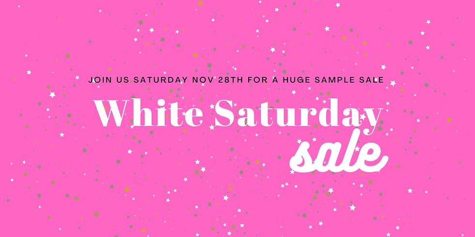 White Saturday Sale