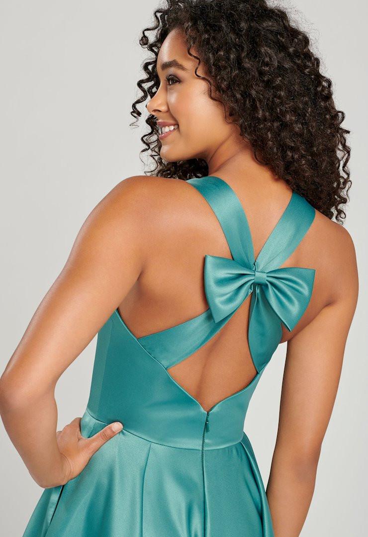 modest green prom dress